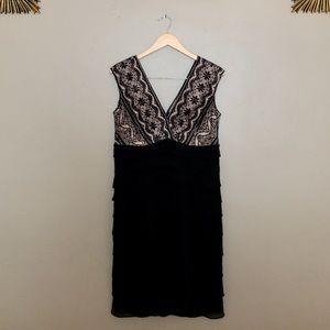 JESSICA HOWARD like new formal body con dress